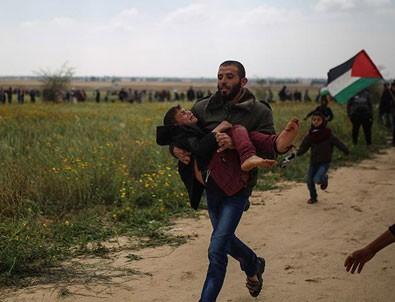 Gazze'de 12 Filistinli hayatını kaybetti