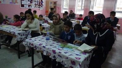 Gercüş'te Kütüphane Haftasında Kitap Okuma Etkinliği