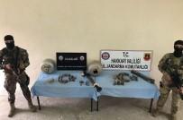 LAV SİLAHI - Hakkari Kırsalında Silah Ve Mühimmat Ele Geçirildi
