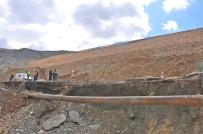 BORU HATTI - İçme Suyu Hattındaki Arıza Giderme Çalışmaları Başladı