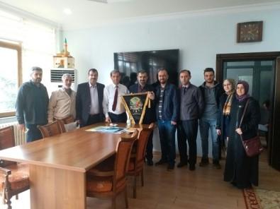 İHH'dan Başkan Özkan'a Ziyaret