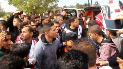 İsrail Askerlerinden 'Toprak Günü' Yürüyüşüne Müdahale Açıklaması 7 Ölü, 500 Yaralı