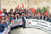 ANADOLU ADALET SARAYI - İstanbul Anadolu Yakası Adalet Saray'ından Mehmetçiğe Destek Ziyareti