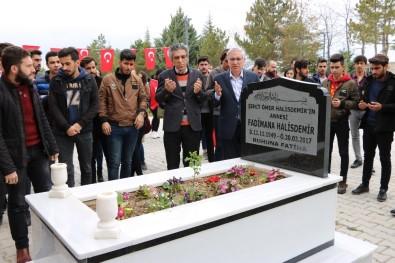 Kahraman Halisdemir'in Annesi Mezarı Başında Anıldı
