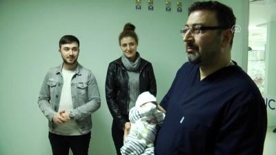 Muhammet Bebek Sağlığına Kavuştu