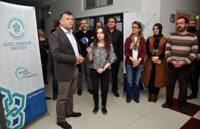 NEÜ Güzel Sanatlar Fakültesi Grafik Bölümü Öğrencileri Sergi Açtı