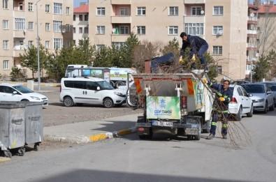 Palandöken Belediyesi Bahar Temizliğine Başladı