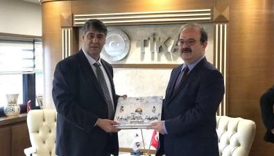 Rektör Polat, TİKA Başkanı Çam'ı Ziyaret Etti