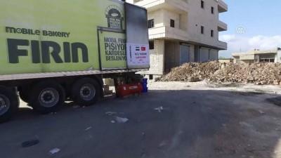 Sadakataşı Derneği'nden Afrin'e Ekmek