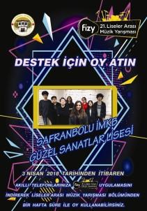 Safranbolu İMKB 'Fizy 21. Liseler Arası Müzik Yarışmasında'