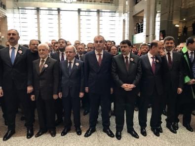 Şehit Savcı Mehmet Selim Kiraz İstanbul Adalet  Sarayı'nda Anıldı