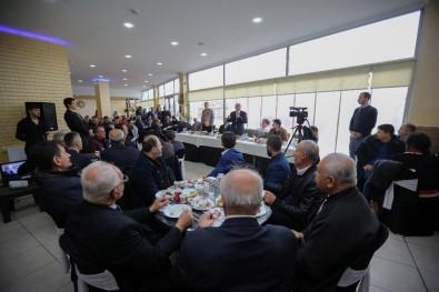 Şentepe Esnafı Başkan Yaşar'la Buluştu