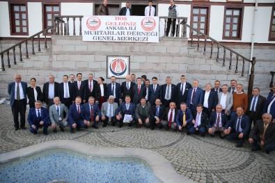 Sincan Belediye Başkanı Ercan Muhtarlarla Bir Araya Geldi