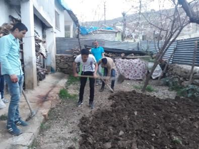 Sınırda Çiftçilerin Mesaisi Erken Başladı
