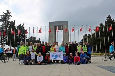 Vel ESBİD Üyeleri, Çanakkale Bisiklet Festivali'ne Katıldı