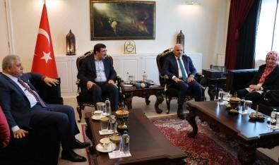 AK Parti Genel Başkan Yardımcısı Yılmaz'dan Vali Zorluoğlu'na Ziyaret