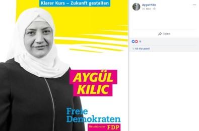 Almanya'daki Türk Kökenli Başörtülü Adaya Destek