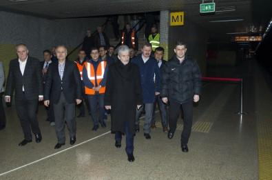 Ankara Büyükşehir Belediye Başkanı Tuna Metrodaki Kazayı İnceledi