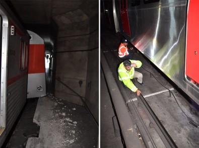 Ankara metrosunda kaza!
