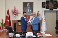 Asimder Başkanı Gülbey, Başhekim İlhan'ı Ziyaret Etti