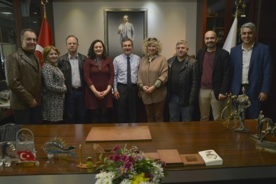 Başkan Ataç, Demokrasi İçin Dayanışma Platformu İle Bir Araya Geldi