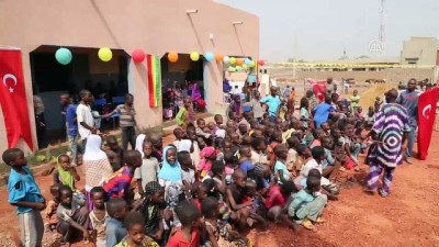 Cansuyu, Mali'de Okul Ve Cami Açtı