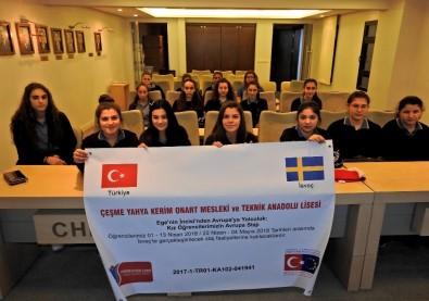 Çeşmeli Öğrenciler, İsveç'te Çeşme'yi Tanıtacak