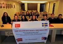 HACI MEHMET KARA - Çeşmeli Öğrenciler, İsveç'te Çeşme'yi Tanıtacak