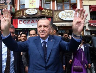Cumhurbaşkanı Erdoğan, Tarihi Köftecide Yemek Yedi