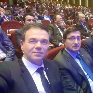 DTO Meclis Başkanı Yıldırım Ve Yönetim Kurulu Başkanı Üstündağ YOİKK Toplantısını Katıldı