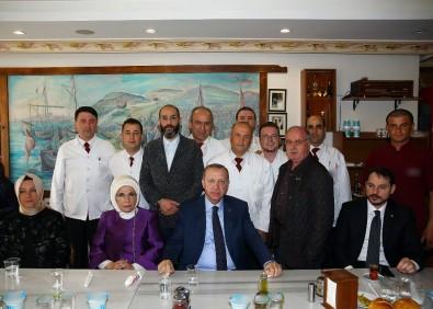 Erdoğan tarihi köftecide yemek yedi