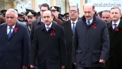 Ermenilerin Katlettiği Azerbaycanlılar Anılıyor
