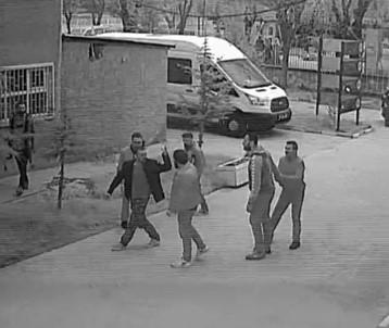 Eskişehir'de Memurların Bıçaklı Kavgası Kamerada
