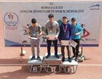 TÜRKİYE BİRİNCİSİ - Gedizli Sporcu Atletizm'de Türkiye Birincisi Oldu