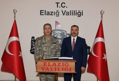 Genelkurmay Başkanı Orgeneral Akar Elazığ'da Birlikleri Denetledi