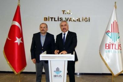 İçişleri Bakan Yardımcısı Ersoy, Bitlis'teki Belediyeleri Ziyaret Etti
