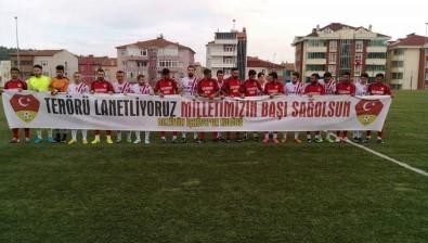 İçköyspor Kulübü Başkanı Ölçer Açıklaması 'Sahaya Çıktığımız Pankart Sonrası Sebepsiz Yere Tepki Aldık'