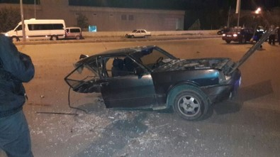 Kahramanmaraş'ta Trafik Kazası 3 Yaralı