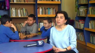Kırgızistan'da 1 Milyon Eserli Çocuk Kütüphanesi