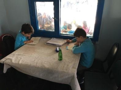 Mahalle Kıraathanesinde Okuma Etkinliği Gerçekleşti