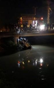 Mersin'de Otomobil Dereye Uçtu Açıklaması 2 Ölü