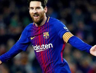 Messi, Barcelona'yı yenilgiden kurtardı