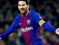 LİONEL MESSİ - Messi, Barcelona'yı yenilgiden kurtardı