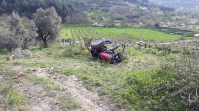 Sakarya'da İki Ayrı Traktör Kazası Açıklaması 2 Ölü