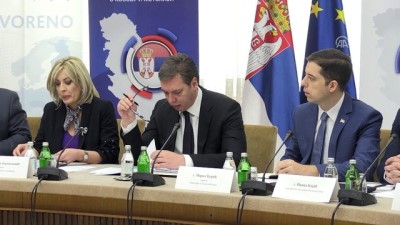 Sırbistan Cumhurbaşkanı Vucic, Kosova İle Donmuş İhtilafa Karşı