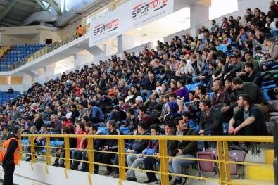 Tahincioğlu Basketbol Ligi Açıklaması Trabzonspor Açıklaması 108 - Pınar Karşıyaka Açıklaması 105