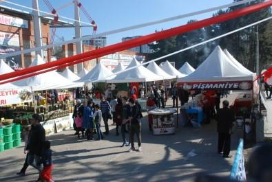 Tokat'ta Şehit Aileleri Yararına Yöresel Ürünler Festivali