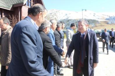Türkiye, Azerbaycan Ve Gürcistan Savunma Bakanları Giresun'da Yaylada Buluştu