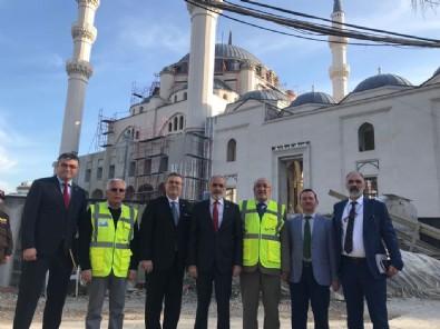 Yalçın Topçu Arnavutluk^ta temaslarda bulundu