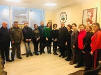 BAĞLAMA - Başkan Yılmaz, Kültür Merkezi'ni Ziyaret Etti